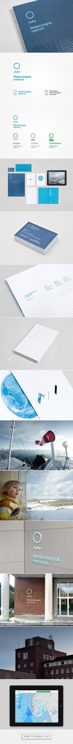 New Logo and Branding for Meteorologisk Institutt by Neue - BP&O - created via https://pinthemall.net