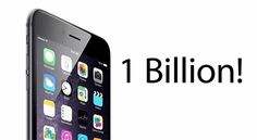 1 miliard de iPhone, iPad si iPod Touch-uri au fost vandute de Apple