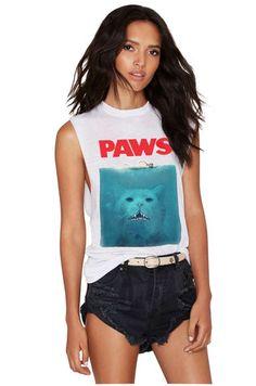 PAWS Tank Top – Meowingtons