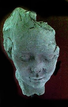 Sculpture portrait in stoneware  By Josefin Johansson