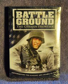 Battle-Ground-German-Frontier-DVD-2008-2-Disc-Set-Brand-New