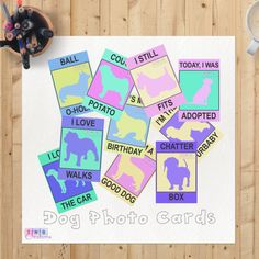Are you proud of your dog? Is your dog well behaved? For a bit of fun, show your good dog off!  Purchase today and the DIGITAL PDF file is INSTANTLY available for you to download and print.  Sometimes all you need is that one card that speaks a million words. Prop these cards next to your furry baby and take a snapshot. Dont forget to use our hashtag #TNBDog when you share it online.  This purchase includes 10 printables to enjoy. - Today I was adopted - It's my birthday - Couch Potato - I'm…