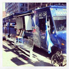 #SouvlakiGR #NYC #Foodtruck #Greek #Souvlaki #Pita #Mykonos