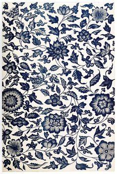 Grandma were are you? #vintage #pattern #flowers