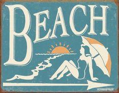 vintage beach cafe