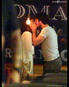 Ian Somerhalder e Nikki Reed têm jantar romântico em restaurante do Rio de Janeiro, nesta segunda-feira, 4 de maio de 2015
