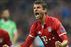 Nueva camisetas de Thomas Müller baratas 2017 (Bayern Munich, Allemagne)
