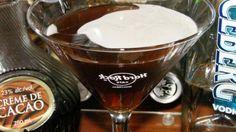 Peppermint Patty Martini (1 1/2 ozs vodka  1 1/2 ozs creme de menthe  2 1/4 ozs creme de cacao  3/4 oz kahlua)