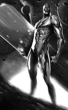 Silver Surfer by Max Moda *