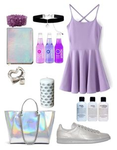 """And then I was a lilac sky"" by alicemarianaa on Polyvore featuring GUESS, NOVICA, Uno de 50, adidas, Monsoon and philosophy"