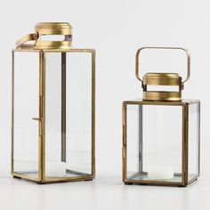 Our lantern offers an updated take on the original model that was once used to illuminate cargo holds on clipper ships. An antique brass finish gives the lantern a clean, modern look. Brass Lantern, Gold Lanterns, Lanterns Decor, Lantern Pendant, Candle Lanterns, Tea Light Candles, Tea Lights, Living Room Designs, Living Room Decor