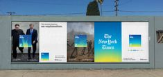 The Daily - The New York Times by Gretel Identity Design, Visual Identity, Brand Identity, Hoarding Design, Display Ads, Exhibition Display, Typography Layout, Environmental Graphics, Environmental Design