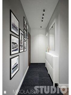 Jak urządzic wąski korytarz - zdjęcie od MIKOŁAJSKAstudio