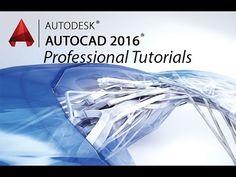 Beginner Tutorial 1 - Autodesk AutoCad 2016 - Designing a Basic House