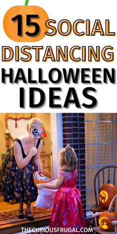 With virtual birthday parties becoming the norm (for now!), and with fall just around the corner, I started thinking about what Halloween 2020 is going to look like. I still want to make is special, our kids are only little once. I came up with 15 fun social distancing Halloween ideas that I think you're going to love too! Socially distanced Halloween ideas 2020. #halloweenideas #socialdistancing #virtualparties #parentingtips #holidaytips #pandemic