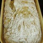 Chlieb z pekáča • recept • bonvivani.sk Bread, Food, Kochen, Essen, Buns, Yemek, Breads, Sandwich Loaf, Eten