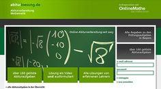 Online #Abiturvorbereitung #Mathematik kostenlos - abigrafen