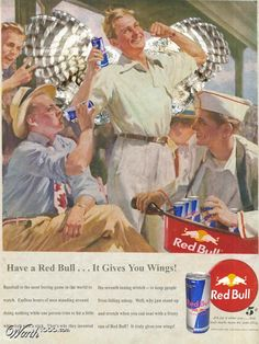 Things go better with Red Bull!