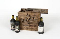 six pack beer packaging - Melissa Stites Design