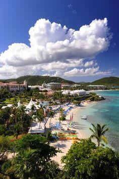 The Ritz-Carlton, St. Thomas overlooks Great Bay in the Virgin Islands