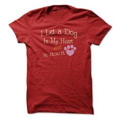 I Let A Dog T Shirts, Hoodies Sweatshirts