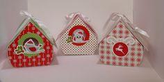 Les nichoirs de Noël - Pour offrir des chocolats et décorer vos tables