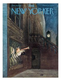 The New Yorker Cover - December 31, 1949 Premium Giclee Print