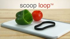 The New Scoop Loop from Pampered Chef.  www.jsimspc.com