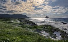 Perfect beach – cold water, Andøya Norway