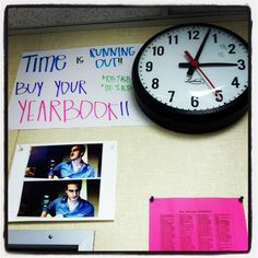 Love this promo idea - so easy and it takes advantage of a space students look at often...