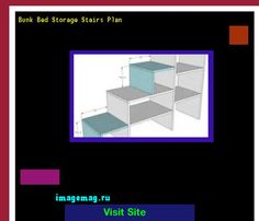 Bunk Bed Storage Stairs Plan 073533 - The Best Image Search