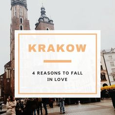 """I'm an easy guy to please. Whenever I visit a new city, I tend to """"fall in love"""". However, I normally don't happen to love cities for the same reasons. Krakow in particular made me fall in love for so many different reasons.  #krakow #poland #travel #europe #prague #traveltheworld #vacation #bestcitybreaks #Thingstodo"""