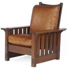 Arts and craft style chair
