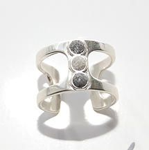 """Colleen Poitras - Pretty. Rocker. Chic. Accessories.   """"Grounded"""" concrete line"""