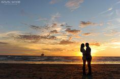 Huntington Beach Engagement Session. Gavin Wade Photographers