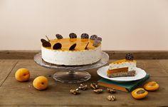 Dívány - Alapkonyha - Sárgabarack-pálinkás karamelltorta lett az év tortája, a barackos buboréktorta pedig a cukormentes tortája Evo, Tiramisu, Mousse, Cheesecake, Birthday Cake, Ethnic Recipes, Desserts, Google, Happy