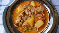 Tárkonyos sertésragu leves Pot Roast, Thai Red Curry, Keto, Ethnic Recipes, Food, Carne Asada, Roast Beef, Essen, Meals