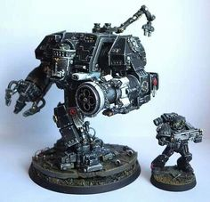 Iron Hands Dreadnought, by unkown #warmongers#wh40k#warhammer40k