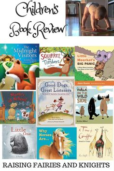 Book Review - Jan & Feb - A collection of book reviews from all the Children's books we have read and reviewed lately up to January.