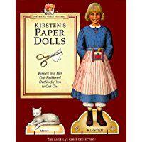 Kirsten's Paper Dolls (American Girls Pastimes)