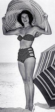 9ef6062647d 50's bathing suits by Bunny Yeager Swimsuits, Bikinis, Swimwear, Vestidos  Pin Up,