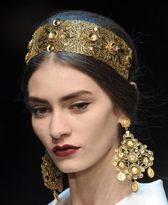 Crown for the Princess of Dorne, Dolce & Gabbana