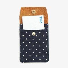 Polka Dot Card Case / Poketo