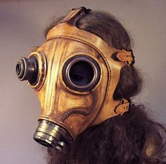Tom Banwell - the master of steampunk masks
