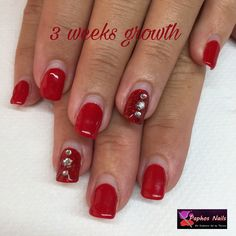 #3weeksgrowth #nails stay #healthy with #biosculpturegel #paphosnails #biosculpturebytheresa #biosculpturecyprus