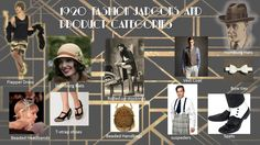 1920 FASHION JARGON AND PRODUCT CATEGORIES