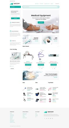 Medical Equipment Store Magento 2 Theme