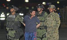Joaquín 'El Chapo' Guzmán está actualmente encarcelado en Ciudad Juárez, donde sus abogados planean presentar 'múltiples desafíos legales a su extradición a los EE.UU..