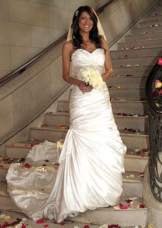 Dress: Sottero and Midgley Style Adorae #FourWeddings #Weddings
