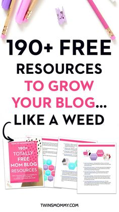 190+ FREE Resources to Grow Your Blog's Traffic, Income and List...Like a Weed. From Tailwind Tribes to Free courses to grow your income to free planners and more. Start your blog on the right foot today and grab this seriously awesome list of freebies :-)  | grow blog traffic | traffic tips | blog traffic tips | free courses online | free planner printables | free ebooks download | free email course | blogging for beginners